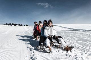 Rodeln im Excelsior Dolomites Life Resort©Michael Huber