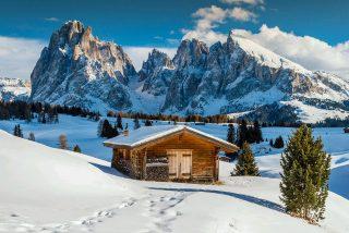 Alpenhotel Rainell Winterlandschaft