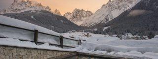 Berghotel Sexten Winter