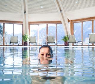 Der Daberer. Das Biohotel Schwimmbad