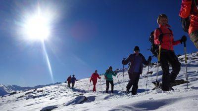 Erlebnishotel Waltershof Schneeschuhwandern