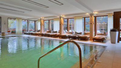 Erlebnishotel Waltershof Schwimmbad