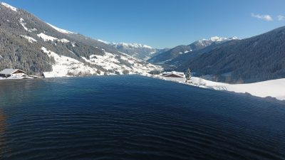 Erlebnisort Gassenhof Wellness Pool Winter