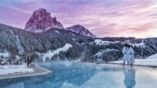Hotel Interski Pool Winter