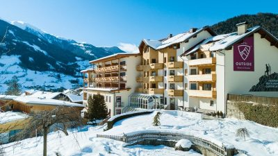Hotel Outside Matrei Winter