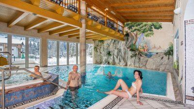 Landhotel Alpenhof Schwimmbad©Foto Design DAVID