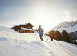 Naturhotel Lüsnerhof Schneeschuhwandern