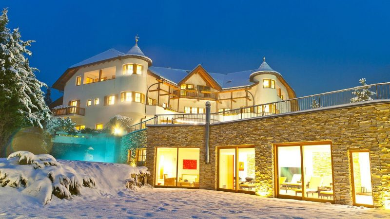 Taubers Wanderhotel Kiens Winter