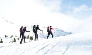 Taubers Wanderhotel Skitour