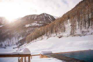 Tonzhaus Hotel Winterlandschaft
