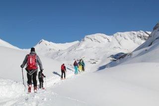 Verwöhnhotel Kristall Skitour©Achensee Tourismus