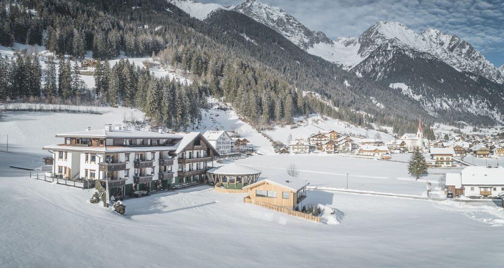 Vierbrunnenhof Winter