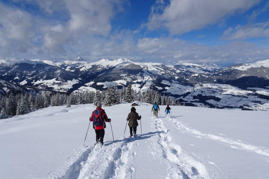 Wanderhotel Kirchner Schneeschuhwandern