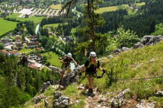 Wanderhotel Poppengut Klettersteig