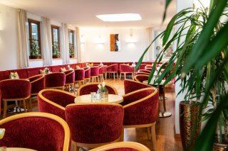 Wanderhotel Poppengut Lounge