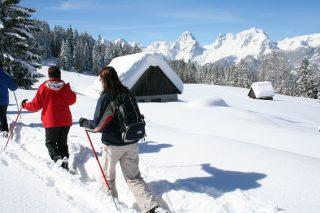 Wanderhotel Poppengut Schneeschuhwandern