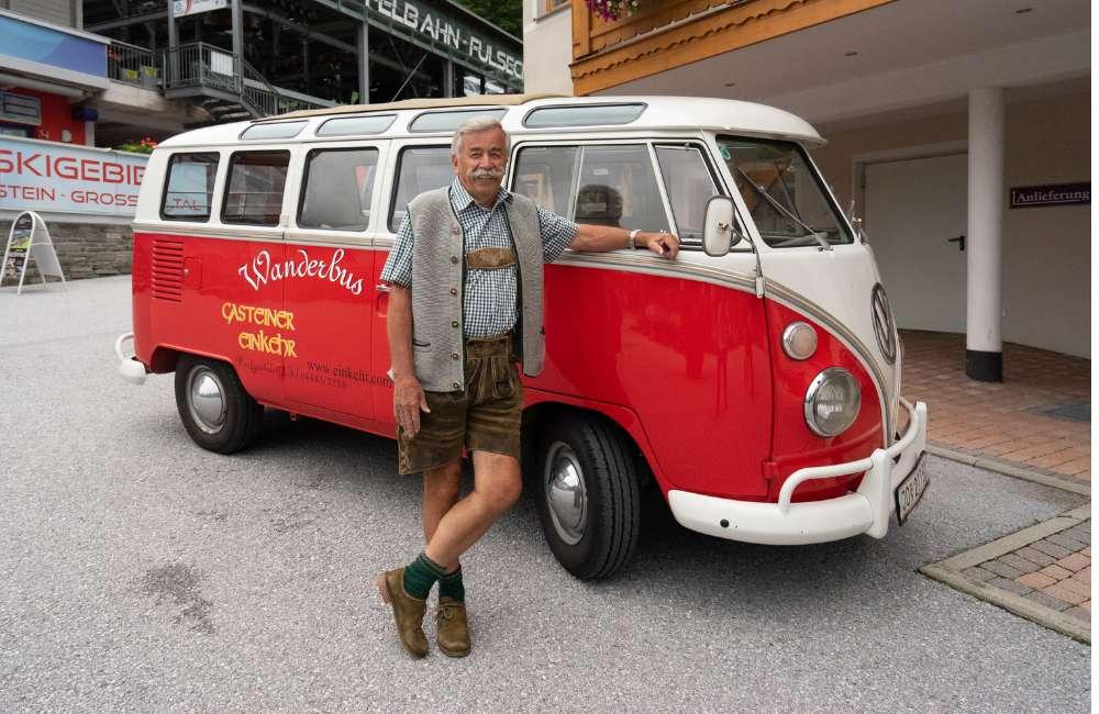 Hotel-Wanderbus und Wandertaxi